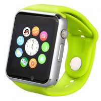 Ceas smartwatch A1 PRO-cartela SIM,camera,TF card-1,54 HD touchscreen-green