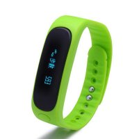 Bratara fitness bluetooth E02-green
