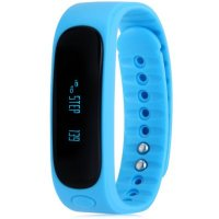 Bratara fitness bluetooth E02-blue