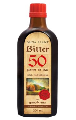 Bitter 50 - cu Ganoderma EHC 200ml