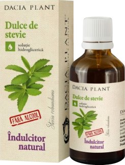 Dulce de stevie indulcitor natural 50ml