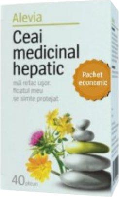 Ceai medicinal hepatic 40 plicuri