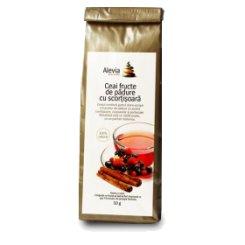 Ceai fructe de padure cu scortisoara