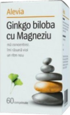Ginkgo Biloba cu Magneziu