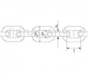 Lanț distribuitor de îngrășăminte naturale 12x36