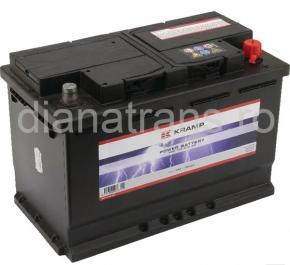 Acumulator 12V 100Ah 720A Kramp