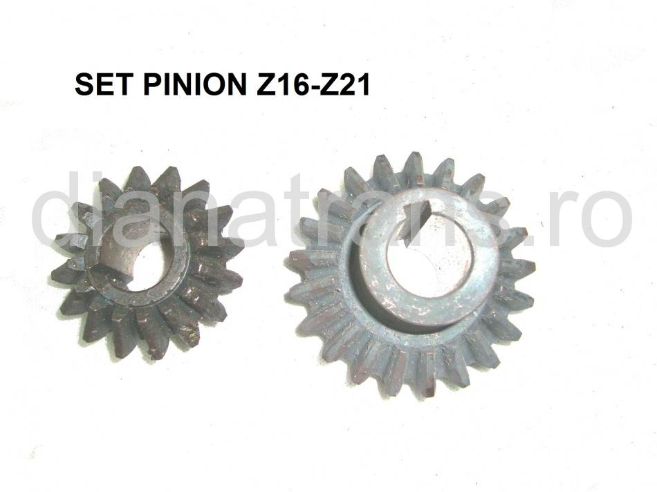 SET PINION Z16-Z21