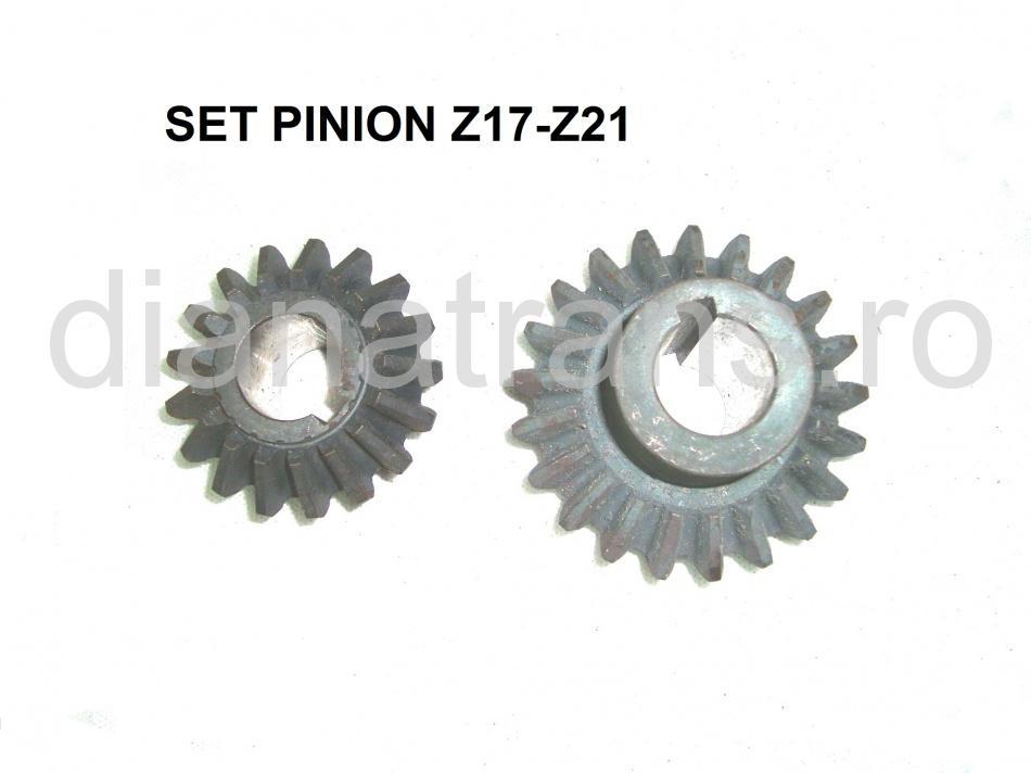 SET PINION Z17-Z21