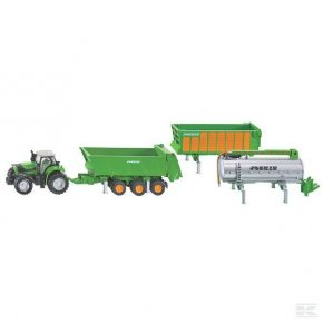 Deutz-Fahr cu Set Trailer