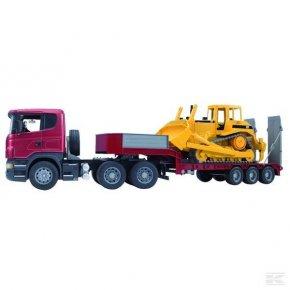 Camion Scania cu Buldozer