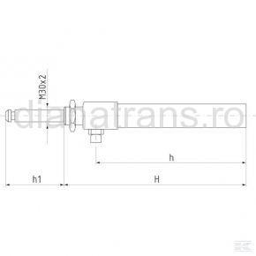 Cilindru hidraulic  6'