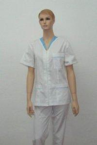 Bluza medic fermoar