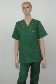 Uniforma medicala unisex - verde iarba