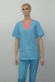 Uniforma medicala unisex - turcoaz cu 638
