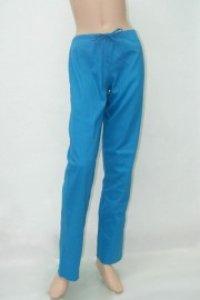 Pantaloni unisex turcoaz