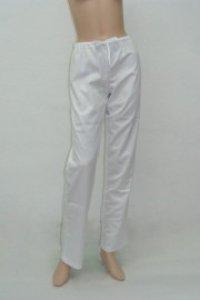 Pantaloni unisex alb