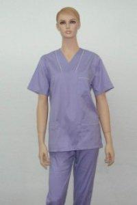 Uniforma medicala unisex - mov 1