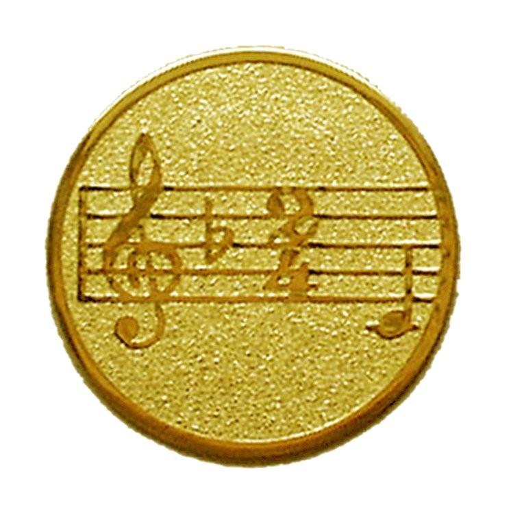 Placuta Medalie Muzica B047