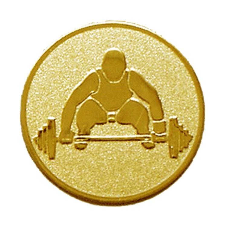 Placuta Medalie Halterofil B146