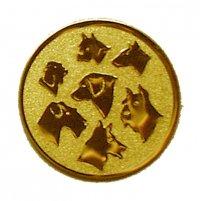 Placuta Medalie caine D2-A76