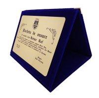 Cutie din catifea IVP3
