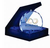 Medalie din sticla CM002 - România 100