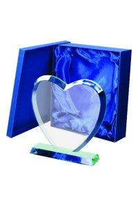 Trofeu Cristal inima G031