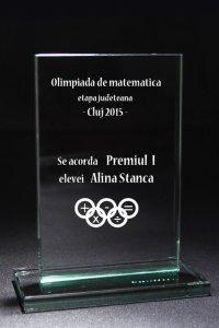 Trofeu sticla 80031