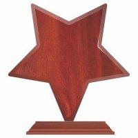 Trofeu lemn Wstar