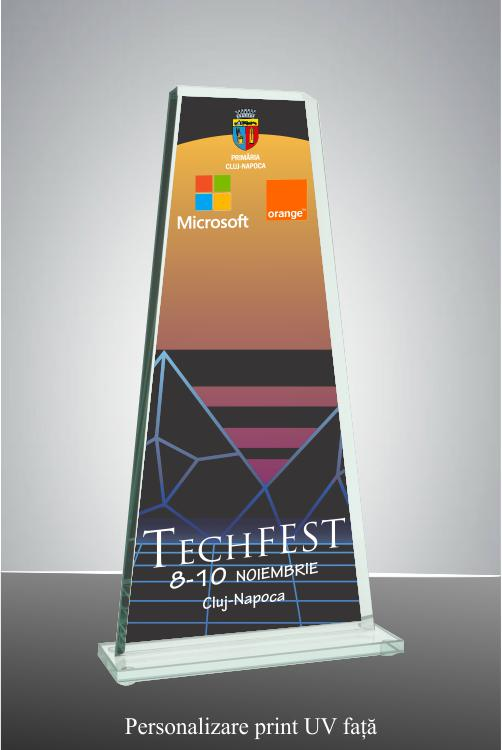 Trofeu sticla GS108UV