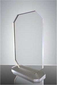 Trofeu sticla acrilica dreptunghi1