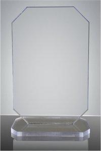 Trofeu sticla acrilica dreptunghi