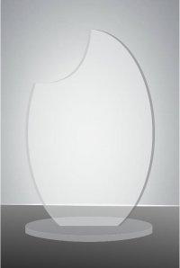 Trofeu sticla acrilica EAT01
