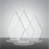 Trofeu sticla acrilica EAT03marimi