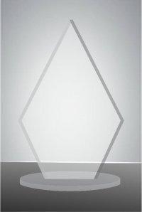 Trofeu sticla acrilica EAT03
