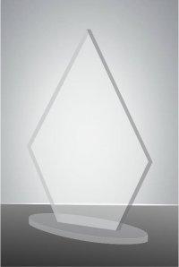 Trofeu sticla acrilica EAT03pers