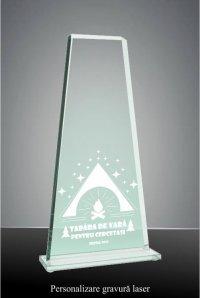 Trofeu sticla GS108GL