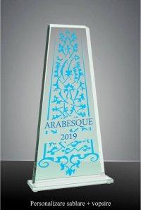 Trofeu sticla GS108SAV
