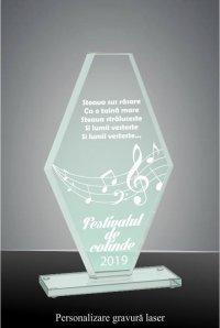 Trofeu sticla GS 10425FPGL