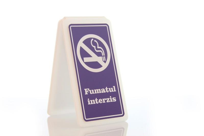 Suport A 6/11 - Fumatul interzis!