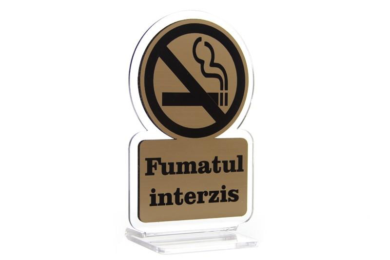 Suport Omega - Fumatul interzis!