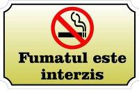 Sticker A4 Fumatul interzis!