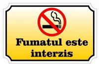 Sticker A5 Fumatul interzis!