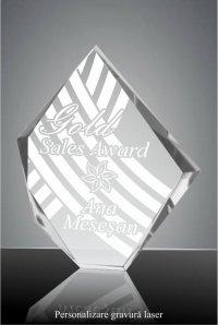 Trofeu cristal C036GL