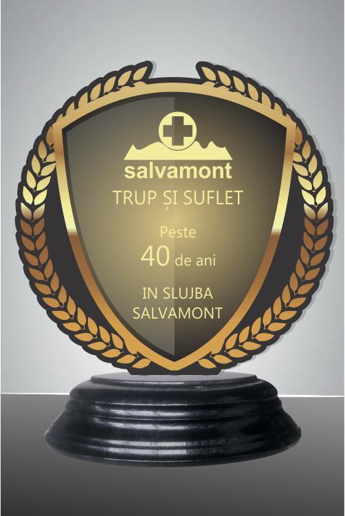 Trofeu sticla acrilica was 42BBUV