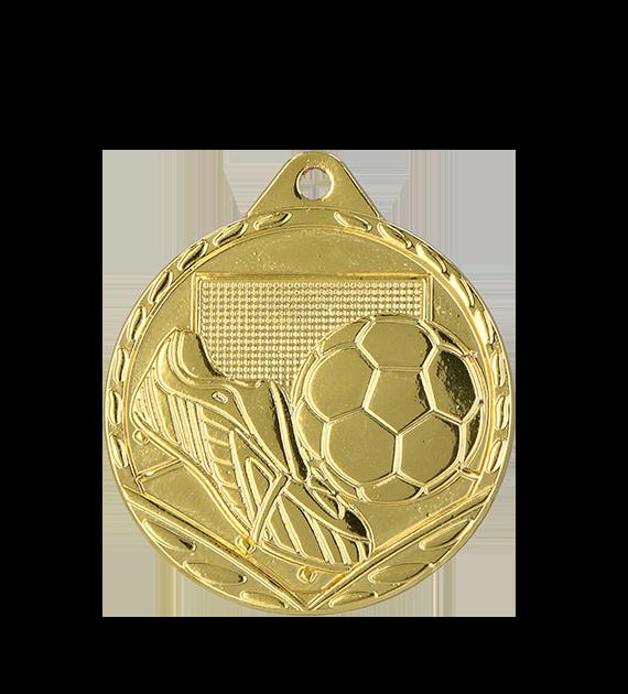 Medalie fotbal - aur, argint, bronz