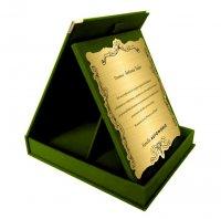 cutie catifea IVP7 portret verde 1