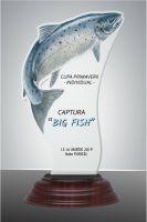 Trofeu acryl peste FISH03