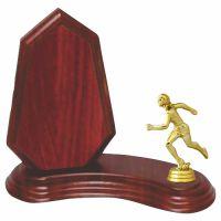 Trofeu lemn WF404Figurina Sportiva Atletism 414