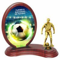 Trofeu lemn WF406Figurina fotbal F24 UV